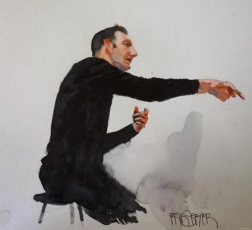 Акварельная живопись. Erik Speyer (19 фото)