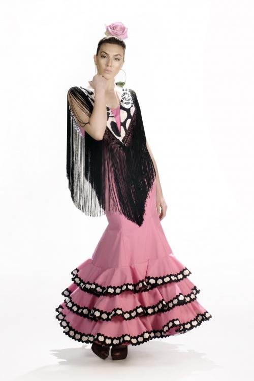 Платья в стиле Фламенко (153 фото)