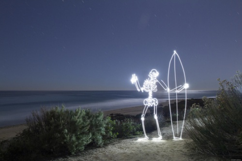 Light painting by Darren Pearson (86 фото)