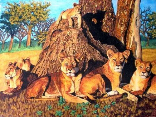 Рисунки акварелью. Bhagvati Nath (20 работ)
