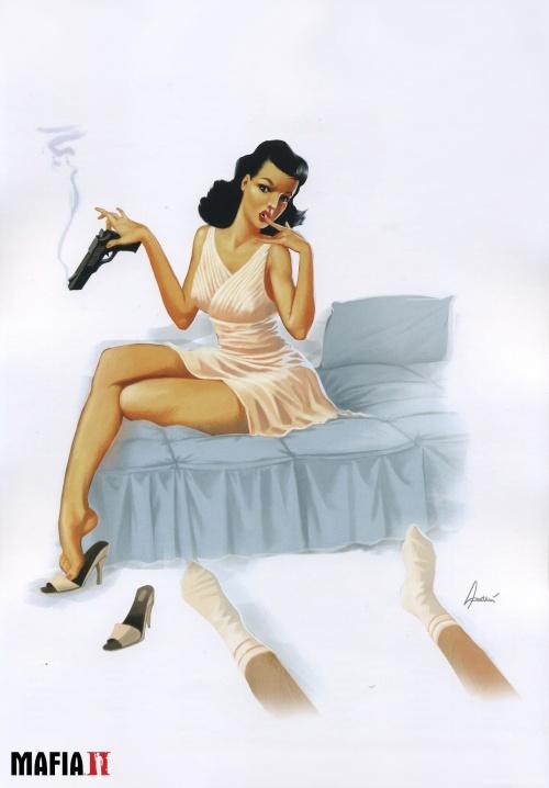 Calendar girls from Mafia II (28 работ) (эротика)