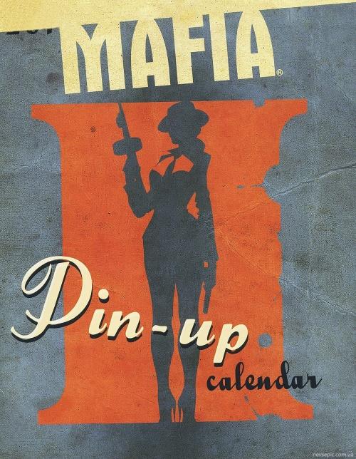 Calendar girls from Mafia II (28 фото)