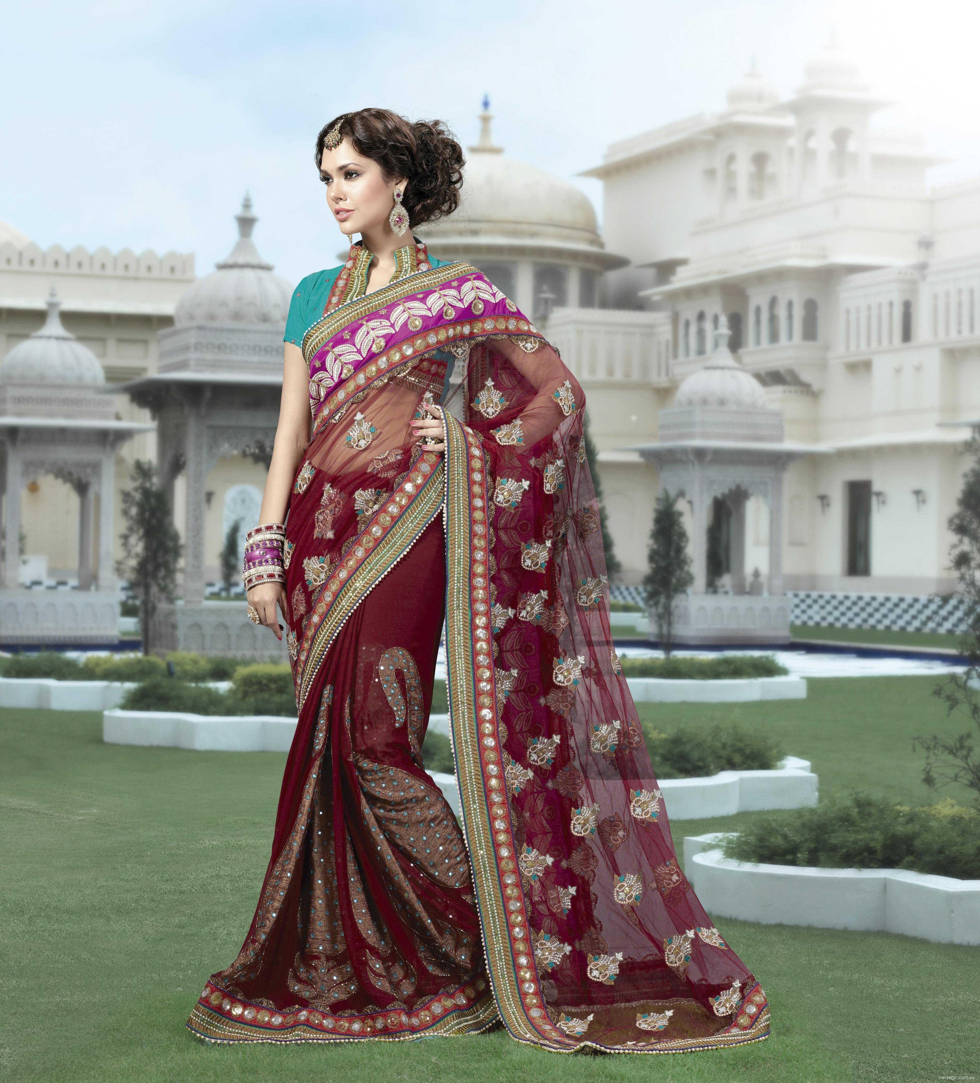 Одежда в индии в картинках