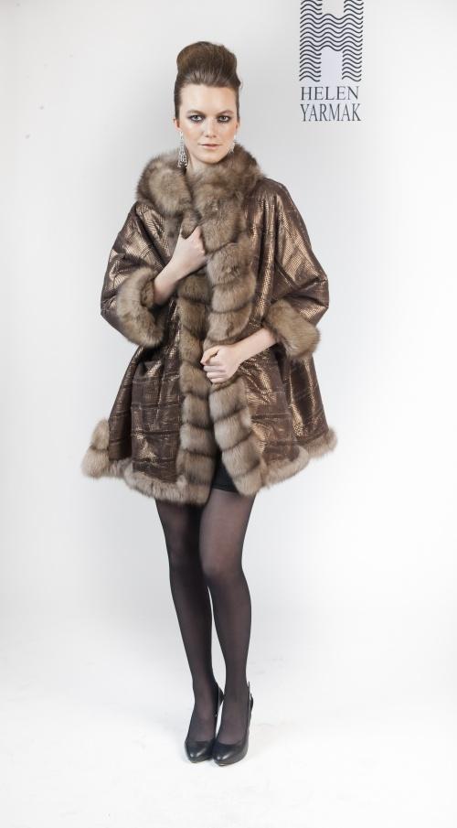 Фотосет меховых нарядов от Елены Ярмак (17 фото)