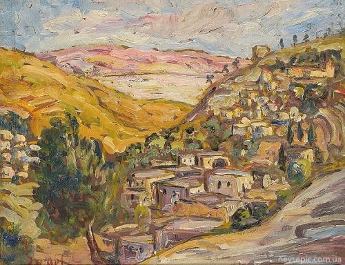 Австрийский художник Daniel Israel (1859-1901)