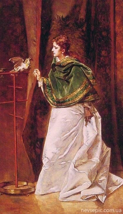 Польский художник Ladislaus Bakalowicz (1833 - 1904) (52 работ)