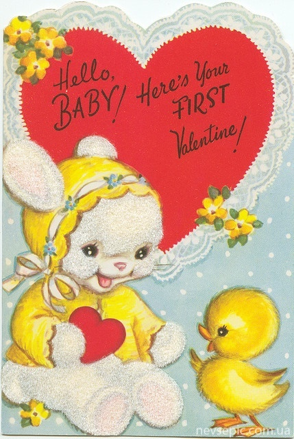 Postcards of the twentieth century - Valentine's Day 5 | Открытки - валентинки ХХ века - День святого Валентина 5 (224 работ)
