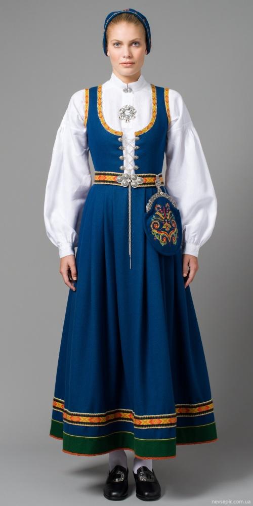 Норвежский национальный костюм (199 фото)