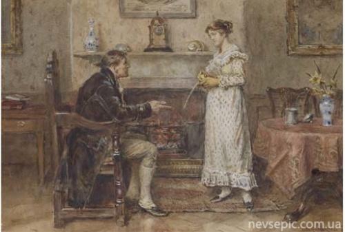 Английский художник George Goodwin Kilburne (1839-1924) (265 фото)