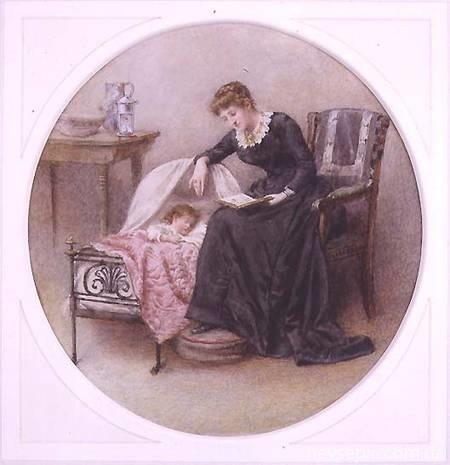 Английский художник George Goodwin Kilburne (1839-1924) (265 работ)