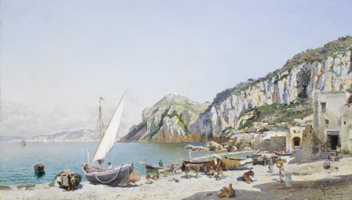 Перуанский художник Federico del Campo (1837 - 1927) (36 фото)