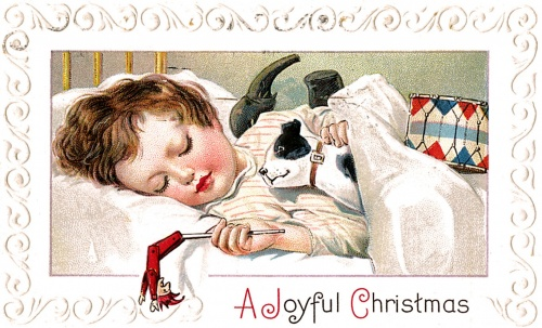 Christmas and New Year 5 - old postcards XX century | Рождество и Новый год 5 - Открытки ХХ века (306 фото)