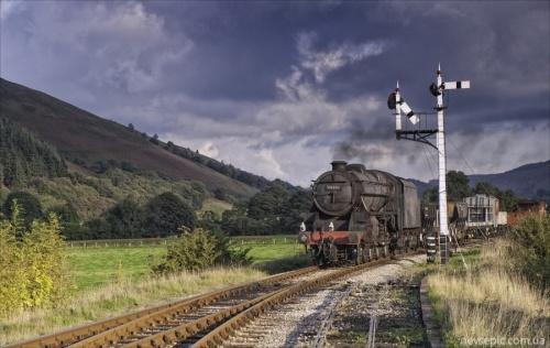 Steam locomotive (145 фото)
