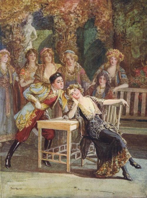 Английский художник Talbot Hughes (1869–1942) (53 работ)