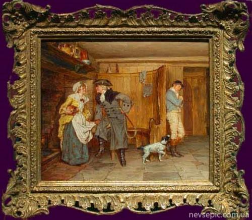 Английский художник Talbot Hughes (1869–1942) (53 фото)