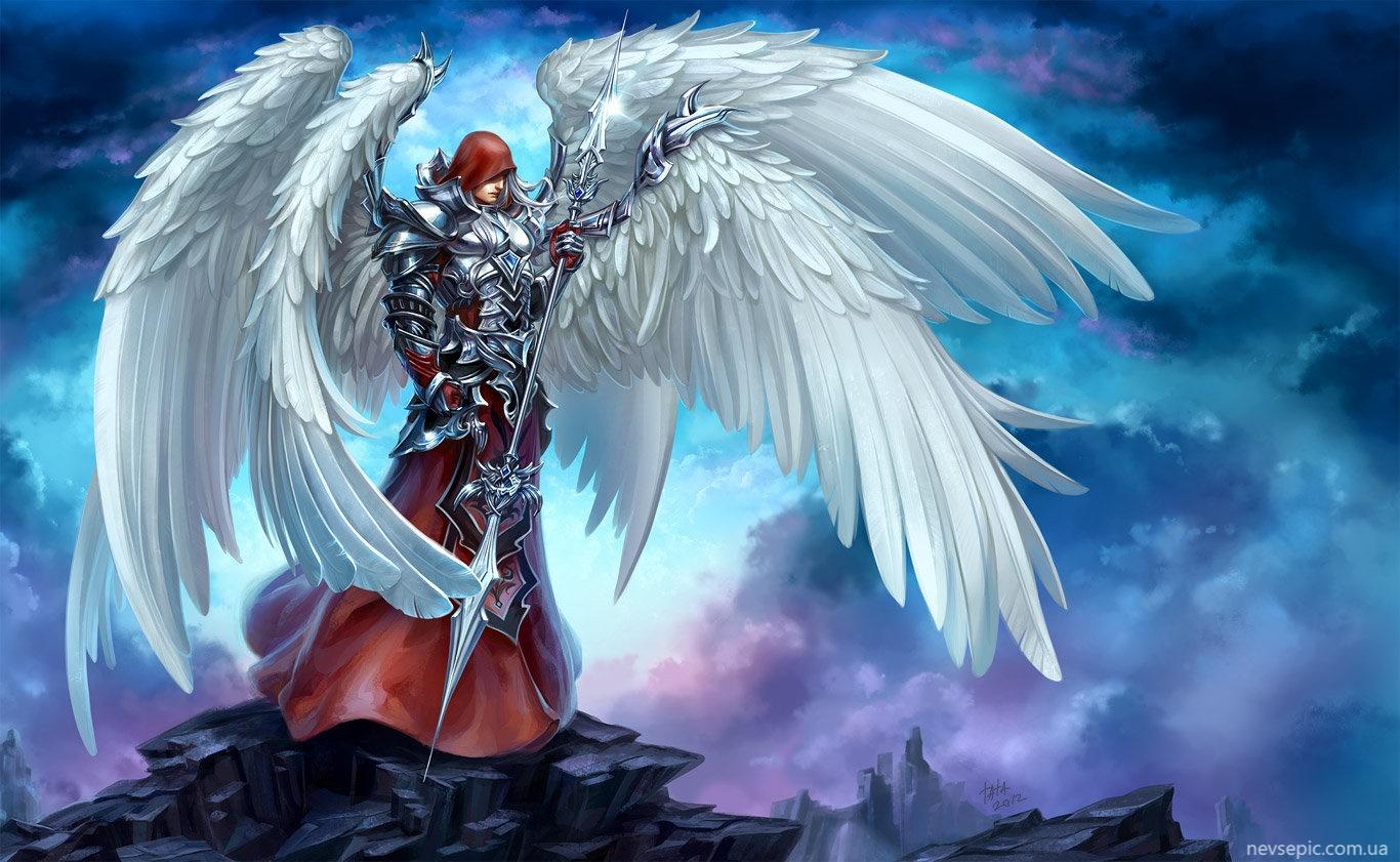 Fotos de anjos guerreiros