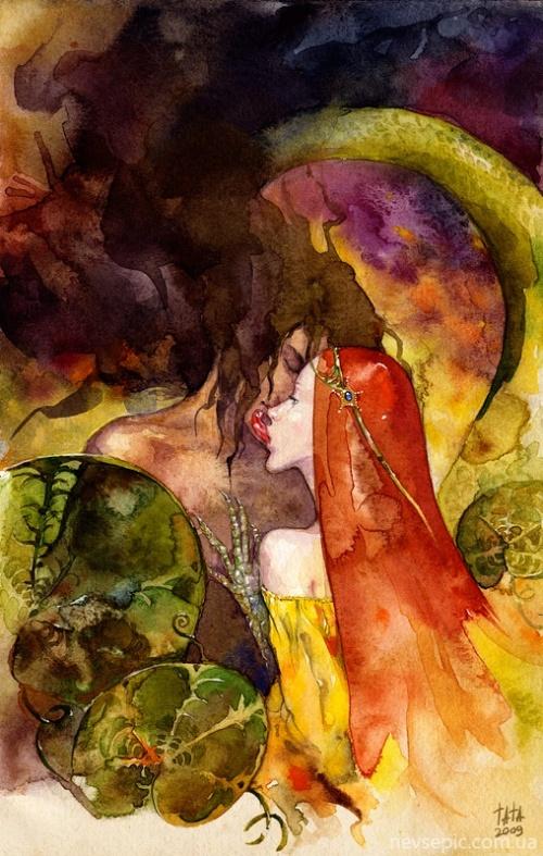 Работы художника - Tatiana Kirgetova (106 работ)