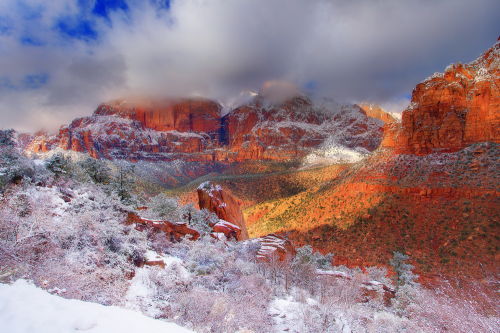 Фотограф Kevin McNeal - Zion National Park (17 фото)