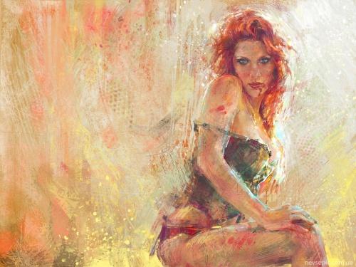 Работы художника - Marta de Andres (65 фото)
