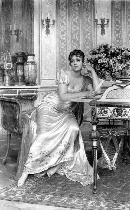 Итальянский художник Frederic Soulacroix (1858-1933) (работ)