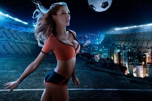 К Чемпионату мира по футболу 2014 (12 фото) (эротика)