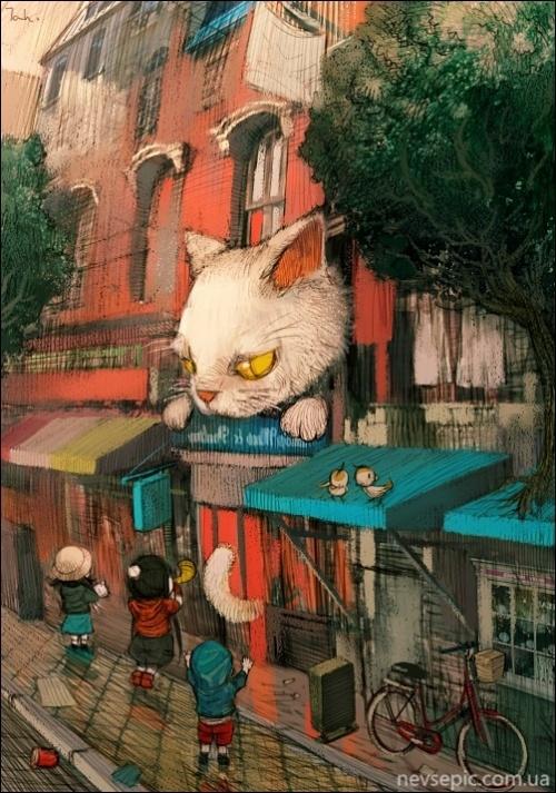 Работы художника - kyoung hwan Kim (tahra) (131 фото)
