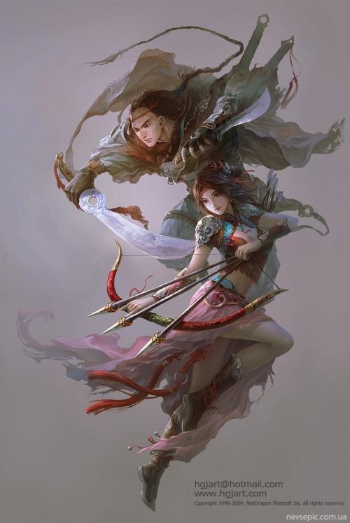 Работы художника - Guangjian Huang (hgjart) (50 фото)