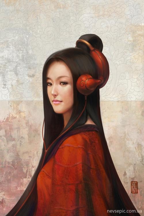 Работы художника - Stanley Lau / Artgerm (part 1) (186 фото)