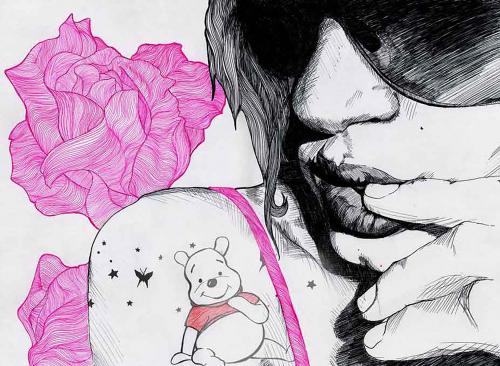 Графический рисунок - Moreno Gabriel (30 работ)