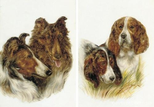 Английский художник Bessie Bamber (56 работ)