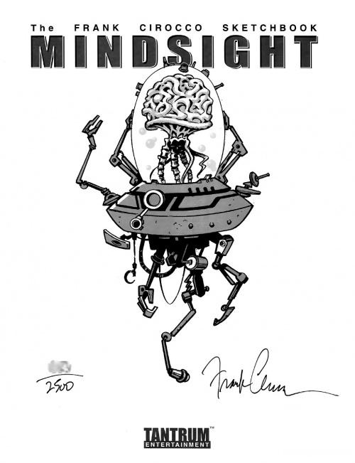 Mindsight - The Frank Cirocco Sketchbook (68 фото)