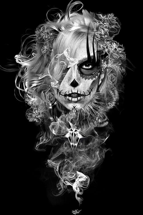 Графический рисунок - Digital Art by Obery Nicolas (61 фото)