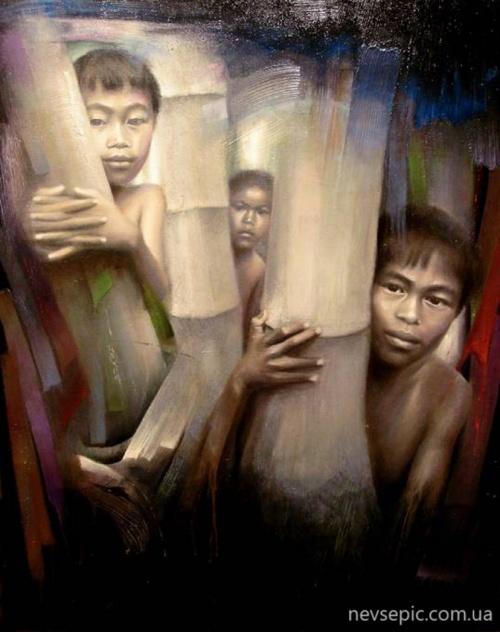 Artist Pedro Sanz Gonzalez (49 фото)