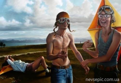 Работы художника - Хорхе Сантос (72 фото)
