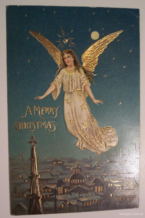 Christmas and New Year 3 - old postcards XX century | Рождество и Новый год 3 - Открытки ХХ века (315 фото)