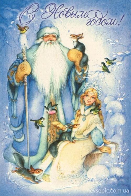 Christmas and New Year 3 - old postcards XX century   Рождество и Новый год 3 - Открытки ХХ века (315 фото)