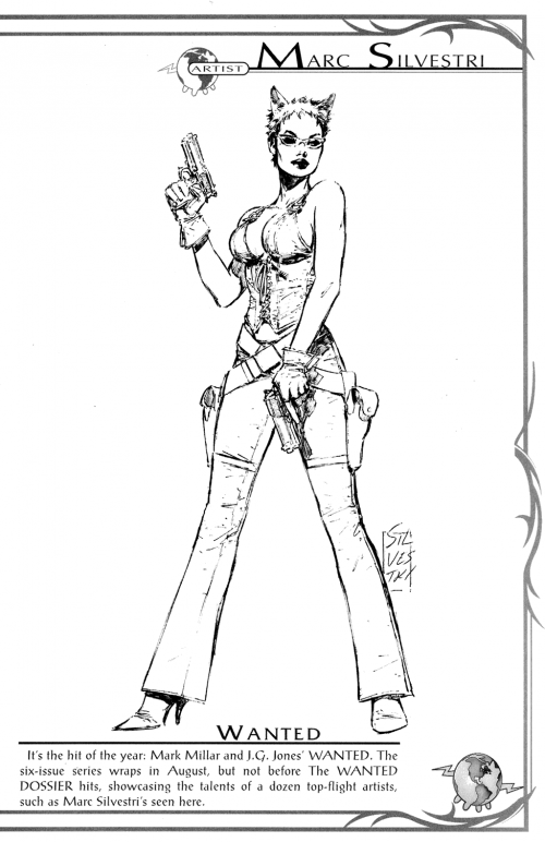 Top Cow Convention Sketchbook (25 фото)