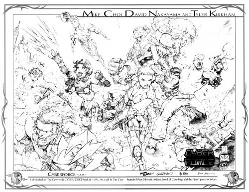 Top Cow Convention Sketchbook (25 фото)