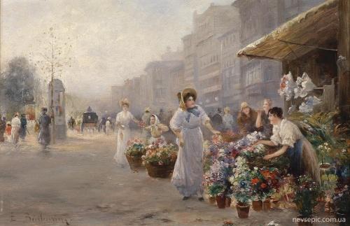 Австрийский художник Emil Barbarini (1855 - 1930) (36 работ)