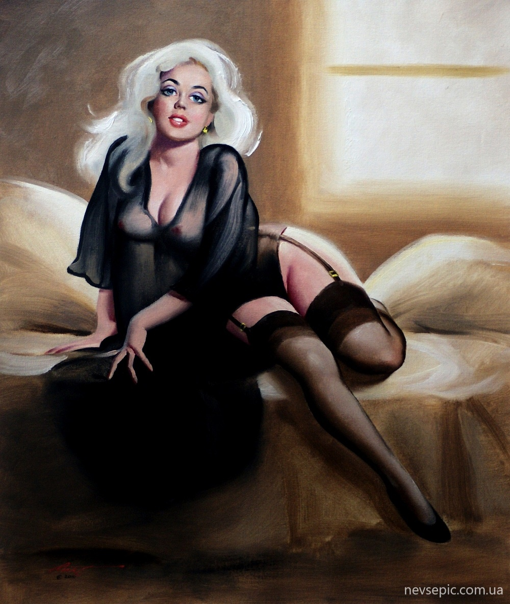 Art erotic fantasy pin up