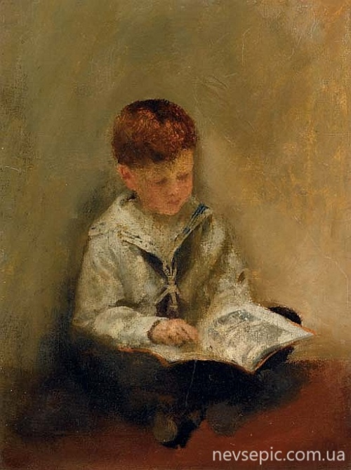 Английский художник Thomas Benjamin Kennington (1856-1916) (85 работ)