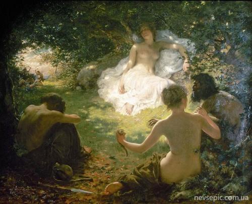 Английский художник Thomas Benjamin Kennington (1856-1916) (85 фото)