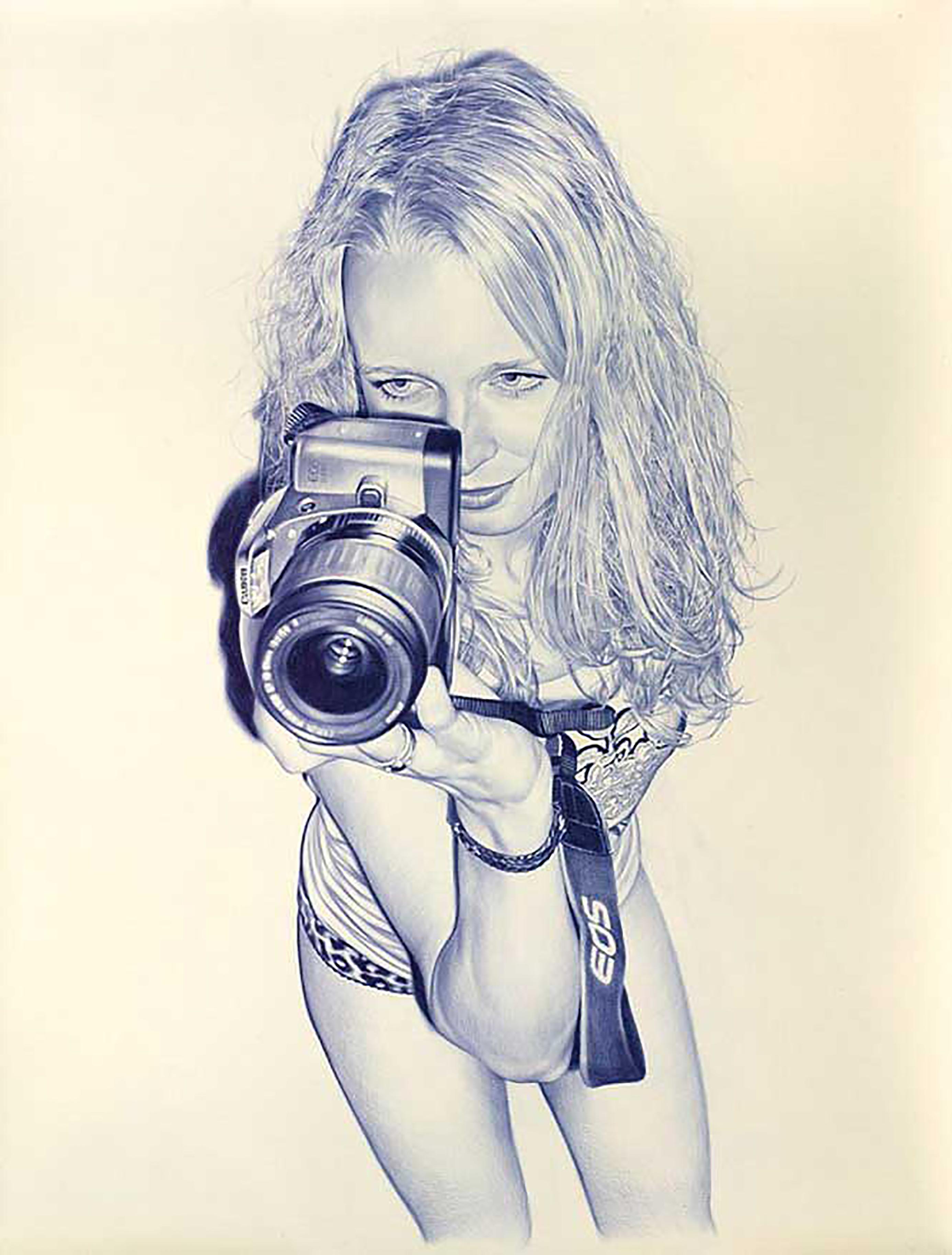 Рисованные девушки голые в карандаше 25 фотография