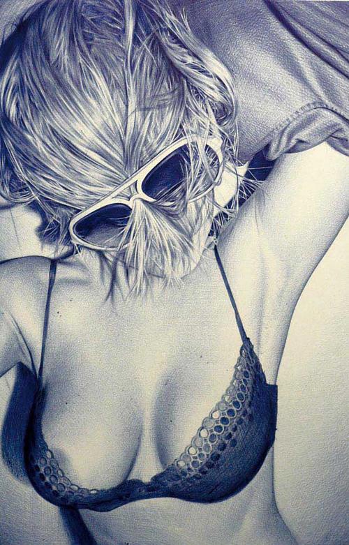 Графический рисунок - Casas Juan Francisco (29 фото)