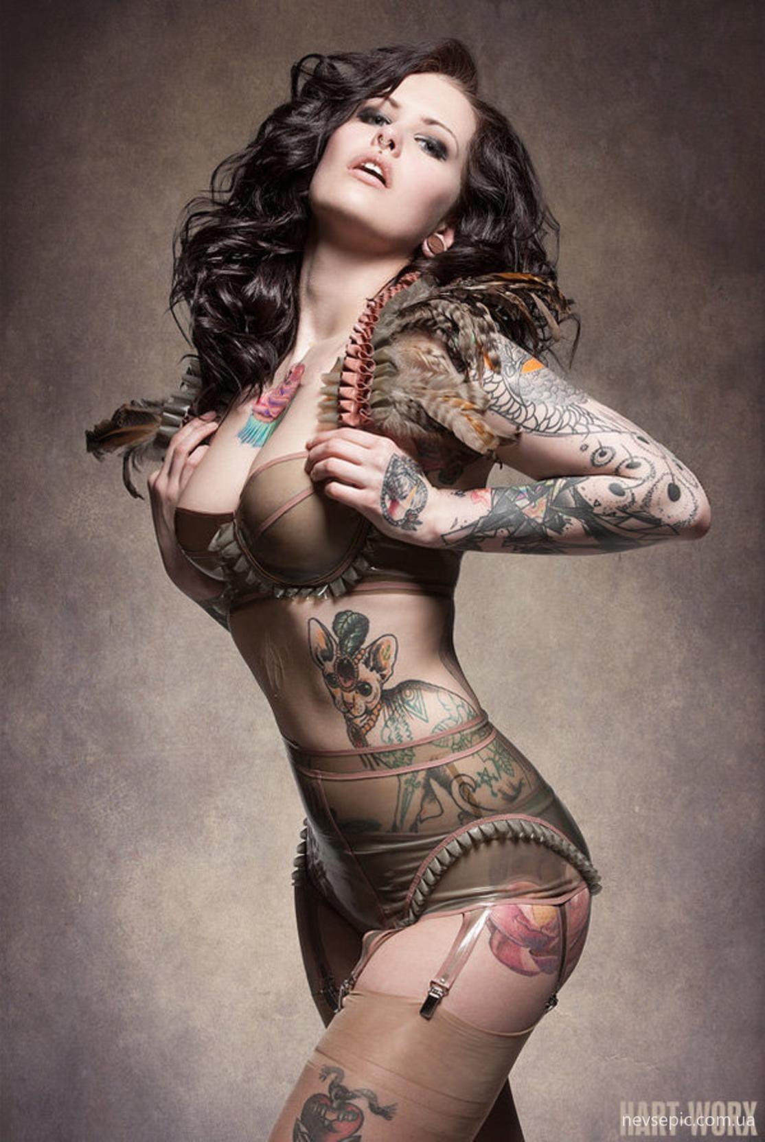Татуировки по всему телу фото 11 фотография