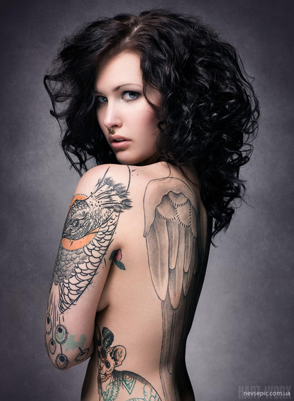 Татуировки по всему телу фото 17 фотография