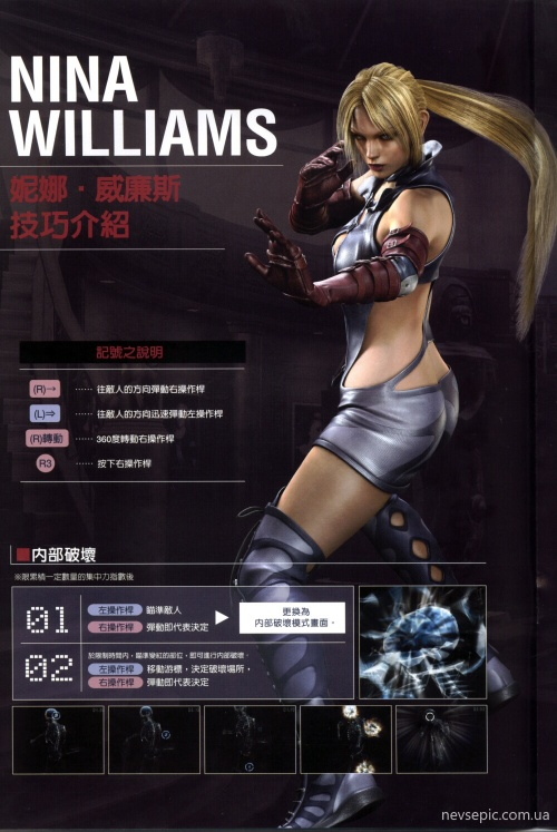 Nina Williams - Death by Degrees (20 фото)