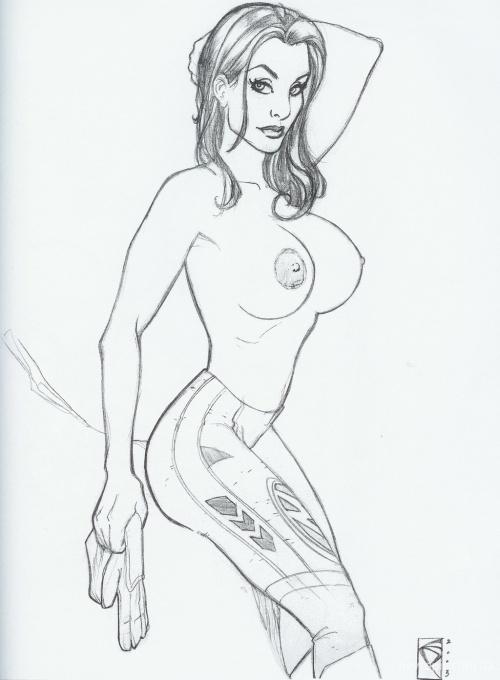Chad Spilker Sketchbook (50 работ) (эротика)