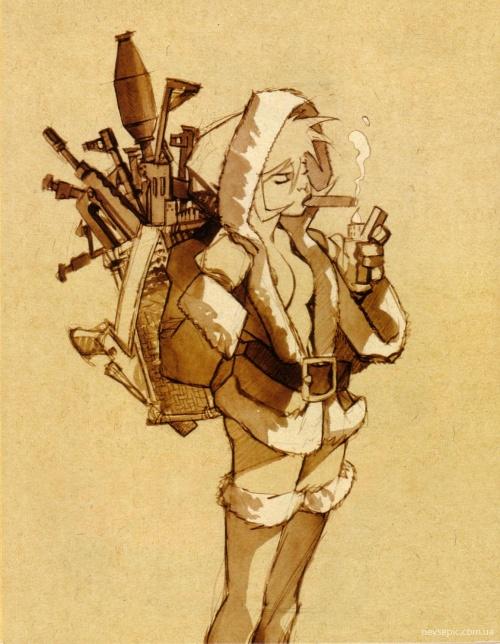 Sketchbook Vatine : Tome 1 (52 работ) (эротика)