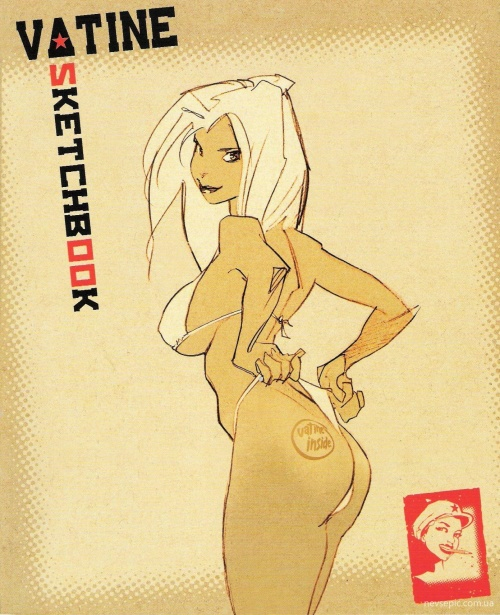 Sketchbook Vatine : Tome 1 (52 фото)